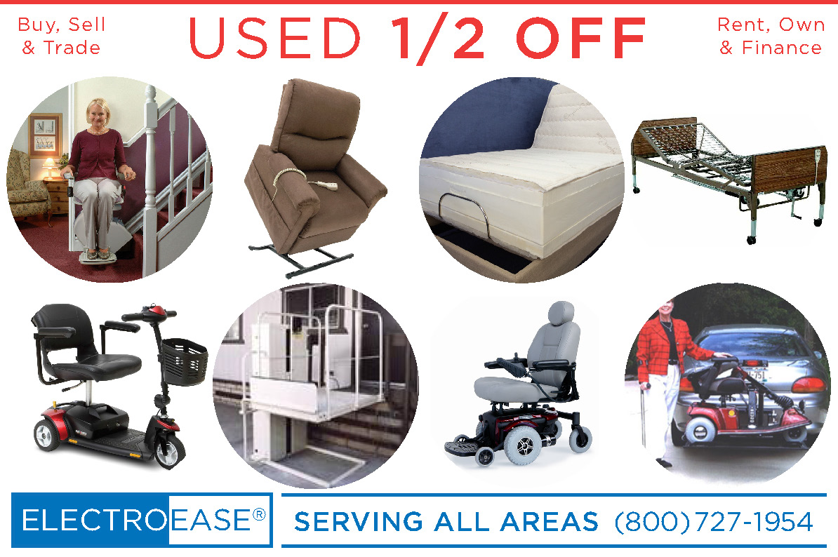 San Diego New & Used Adjustable Bed buy sell & trade bariatric hospital beds rent own & finance Lift Chair rent rentals renting mobility electric scooters inexpensive stair lifts cost wheelchairs sale price wheel chair elevators
