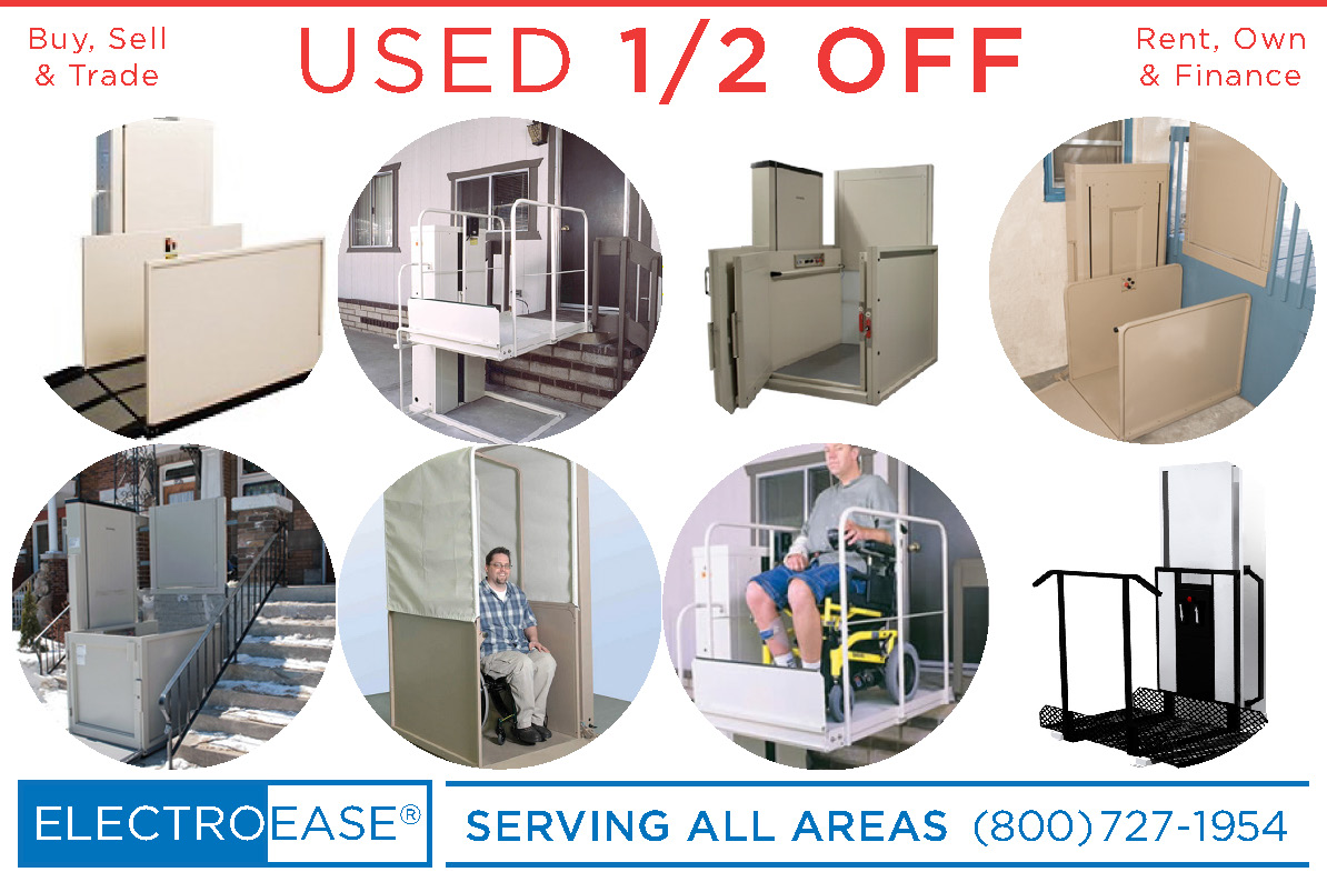 San Diego Used wheelchair lifts cost wheel chair lifts inexpensive vertical platform lifts cheap porch lifts discount vpl pl50 and pl7s sale price macslift mobility vpl-3100 by bruno