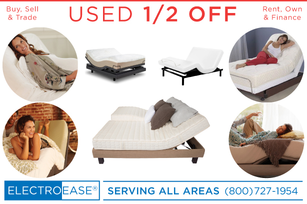 San Diego used Adjustable Bed discount electric bed inexpensive power bed cheap zero gravity beds sale price motorized frames price reverie flexabed leggett platt prodigy ergomotion s-cape