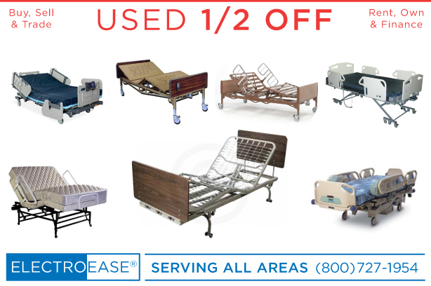 USED Buy, Sell, Rental Fully Electric 3 Motor Hospital Bed ONE HALF OFF IN PHOENIX AZ