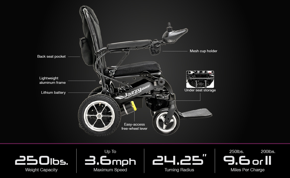 passport jazzy los angeles ca electric motorized wheelchair