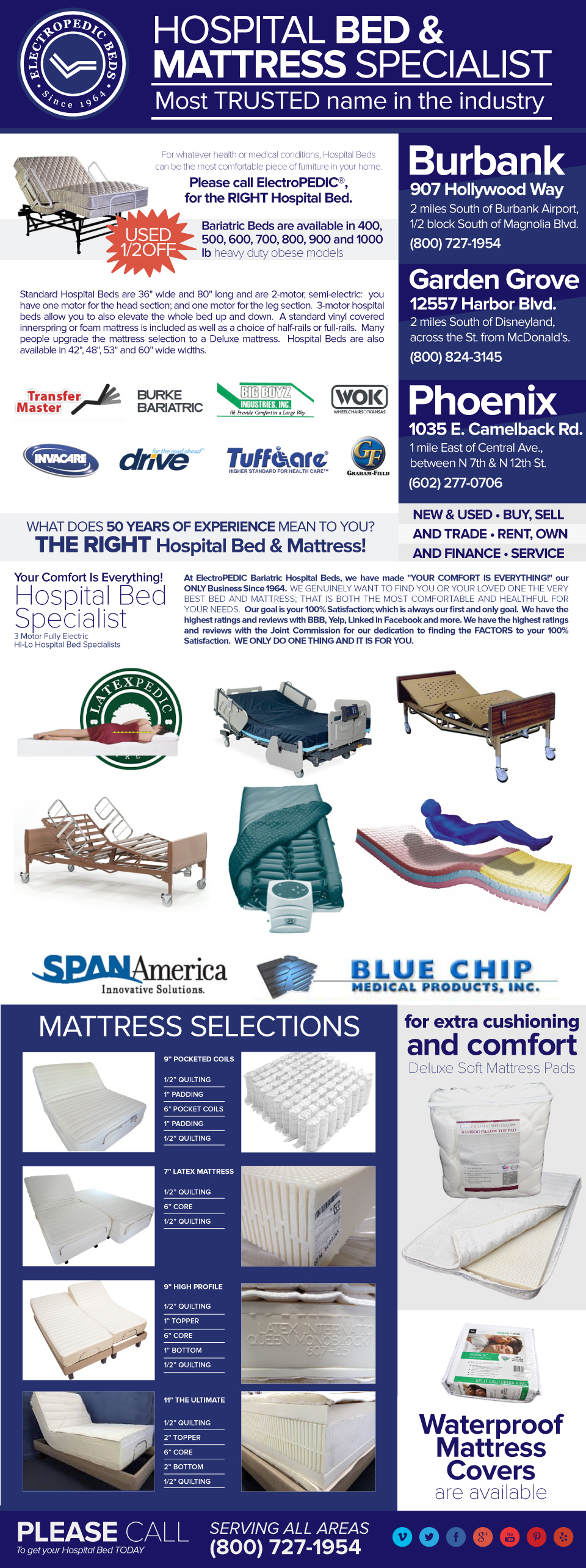 New & Used Hospital Bed Buy, Sell, Rental, Trade & Finance