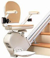 Electropedic stairlift chair stairway staircase straight home stair lift