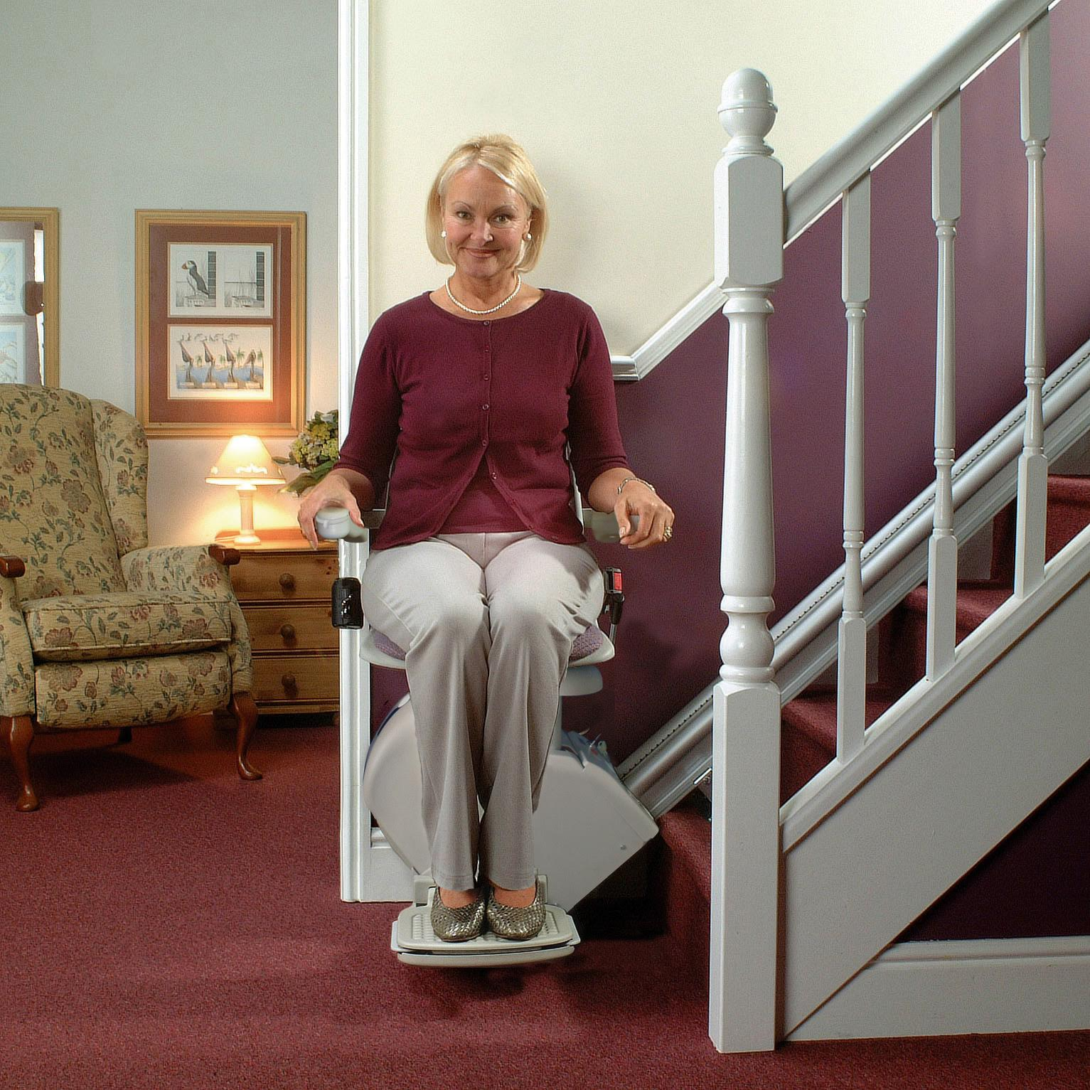 City Stair Lift are home residential indoor stairway staircase glides