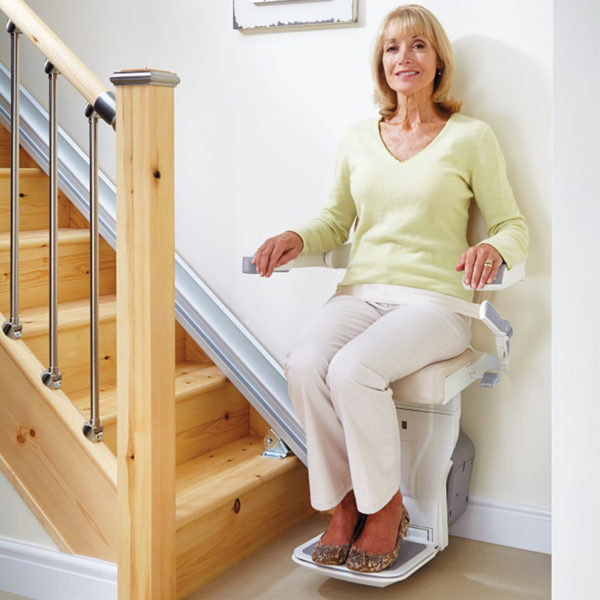 Kraus indoor straight liftchair stair Stanton Stair Lifts