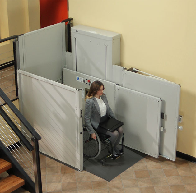 city wheelchair elevator vpl vertical platform pl macs porchlift are harmar bruno macsliftgate ezaccess