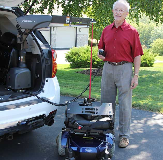 anaheim class 3 trailer hitch scooter wheelchair lift
