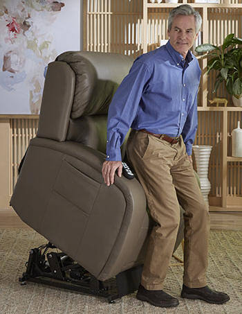 golden seat reclining leather los angeles lift chair recliner