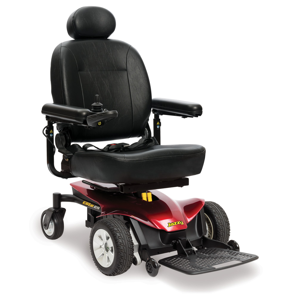 Jazzy Elite ES City affordable cost pride mobility powerchair
