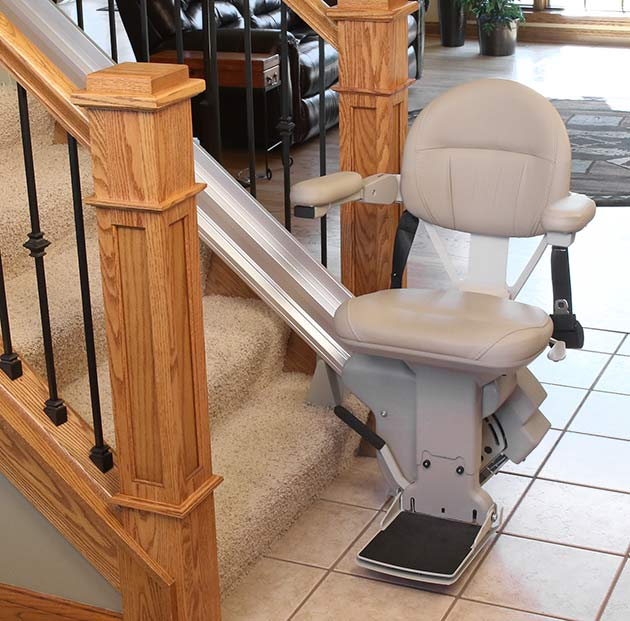 Cypress bruno heavy duty elite stair chairlift