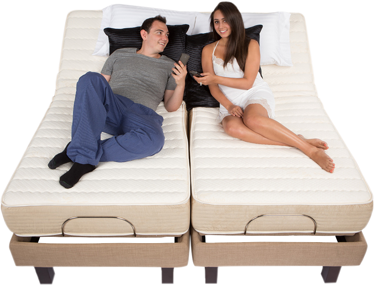 high profile adjustable bed by electropedic