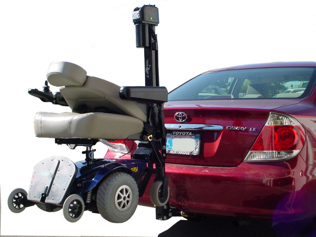 wheelchair back of van truck suv trailer hitch carrier mobility scooter electric senior elderly chair in Costa Mesa Huntington Beach Santa Ana  LA  az