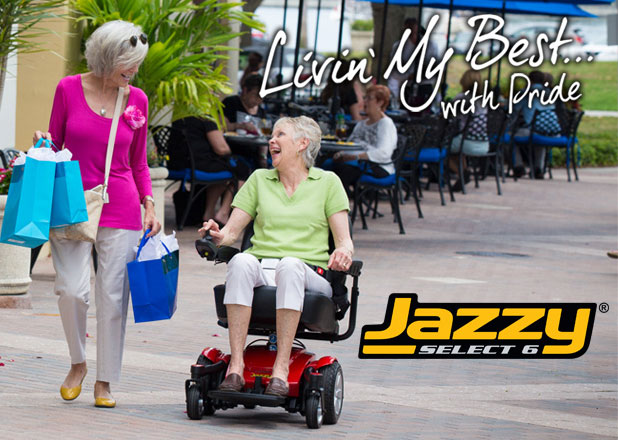 Brea  Electric Wheelchair Pride Jazzy Power Chairs