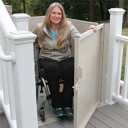 wheelchair elevators los angeles vpl vertical platform pl50 3100 3200 residential home commercial ada business lift