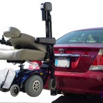 vehicle lift scooter car van suv rv Anaheim wheelchair outside exterior lifter
