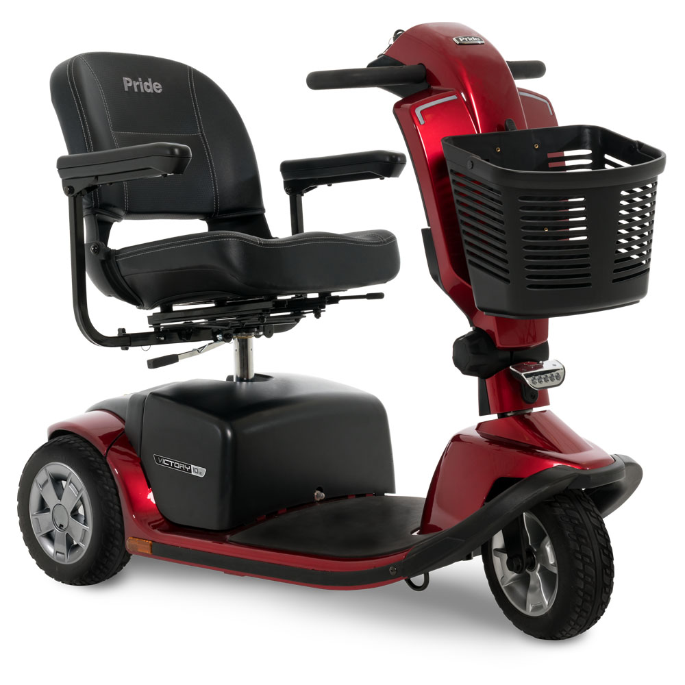 Anaheim Victory 3 Wheel heavy duty electric senior scooter