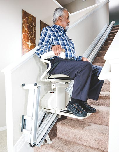Fullerton indoor residential home straight rail liftchair