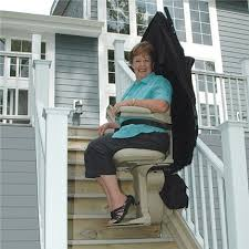 City Bruno outdoor exterior outside stairlift
