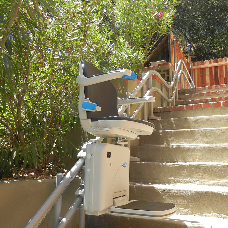Stanton Stair Lifts handicare 2000 curved stairchair are in Anaheim ca kraus stairchair