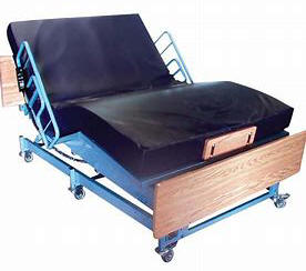 beriatric heavy duty large big wide city electric adjustable hospital bed are power motorized frame foundation
