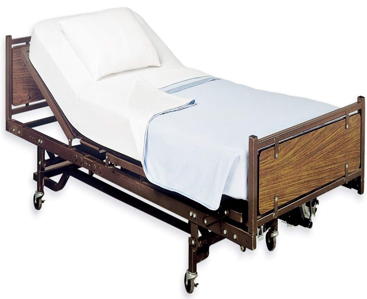 hospital bed 3 motor fully electric hi lo phoenix medical mattress