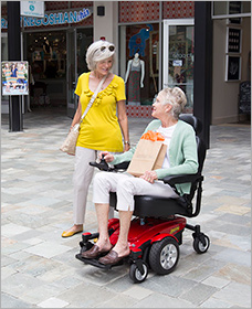 PRIDE JAZZY rent electric wheelchair in Los Angeles