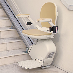ELECTROPEDIC straight rail San Diego Stair Lift Outdoor, Indoor and Curve Specialist