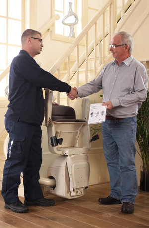stairlift service installation chair stair lift